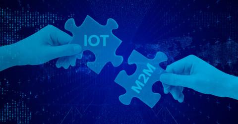 Qual a diferença entre M2M e IoT.